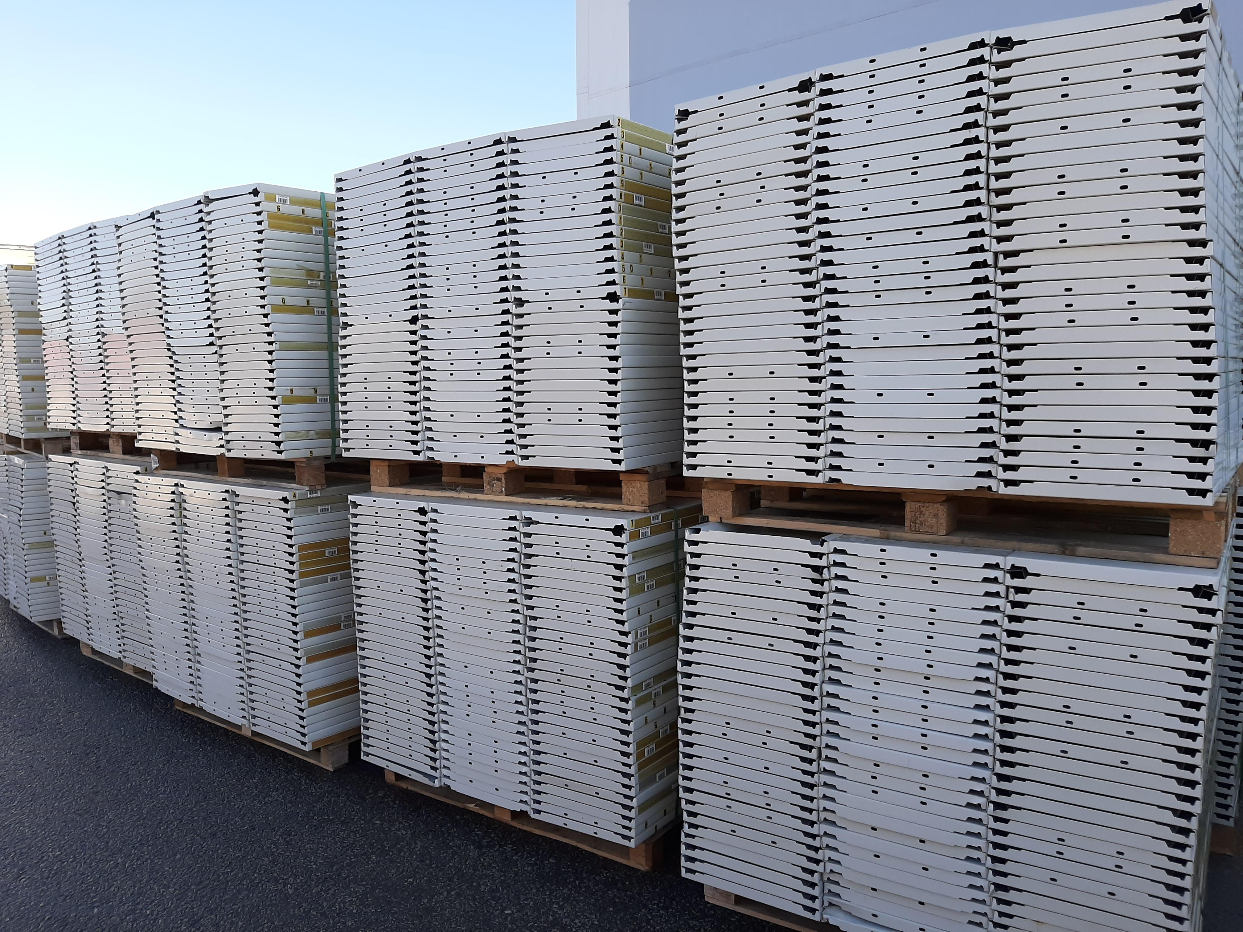 Kasten hyllytaso 400x1000 mm, käytetty