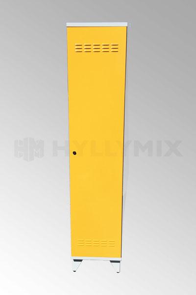Siivouskaappi, keltainen 1900x400x545mm