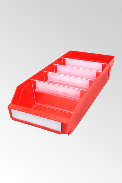 4018 - Hyllylaatikko Punainen