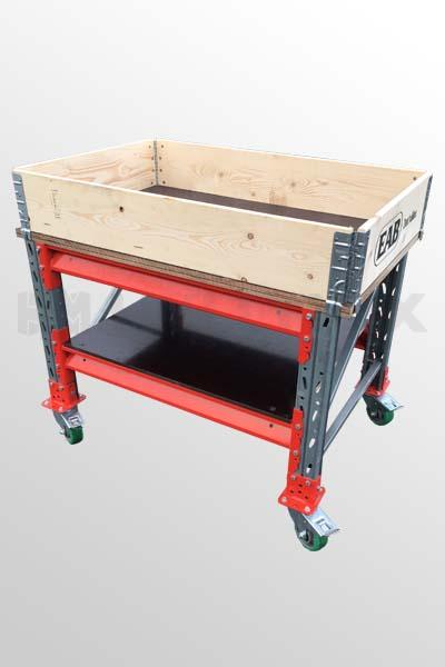 Työpöytä/ lavavaunu