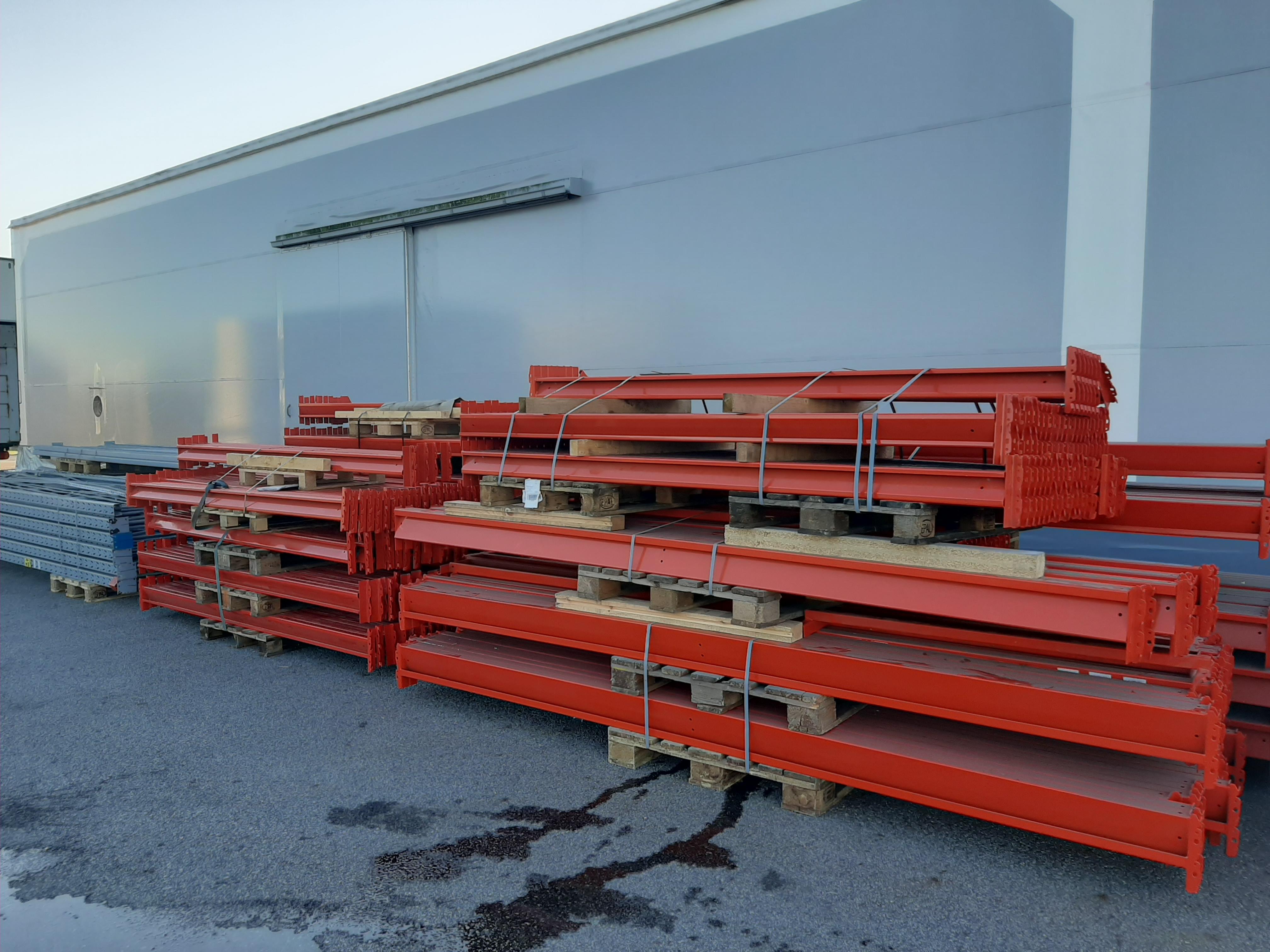 EAB vaakapalkki 3600/4x600 kg, käytetty