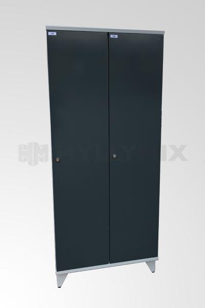 Käytetty 2- ovinen pukukaappi 1900x800x545mm
