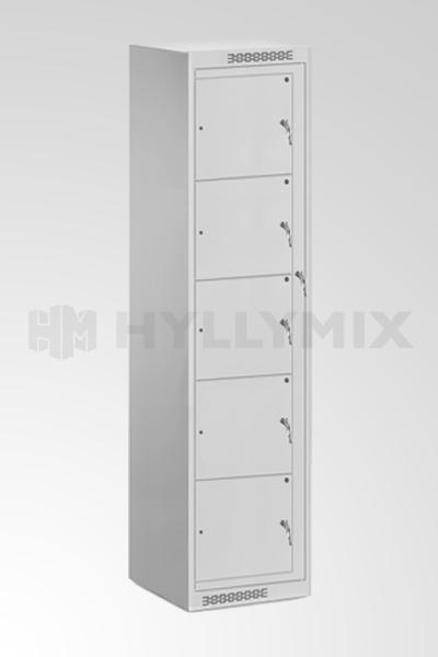 Vaihtokaappi 5- ovella  1820x380x400mm